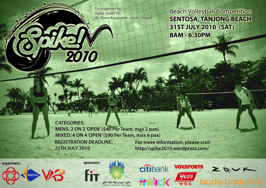 Spike2010! Poster